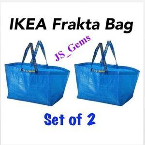 2 New Durable Reusable Frakta Large Bags Home
